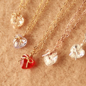 ◆ Bonaventure (ボナバンチュール) レディースキュービックジルコニア (CZ) with Ribbon & ハートモチーフネックレス and pendants popular in translation and! Yen reduction trial % review post 2013 gifts
