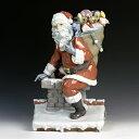 居家, 寢具, 收納 - リヤドロ(Lladro リアドロ 陶器人形 置物) クリスマス サンタがやってきた(1500体限定)#ldr-1931