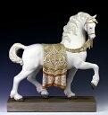 リヤドロ(Lladro リアドロ 陶器人形 置物) 動物 威風堂々(台座付)#ldr-12497