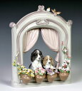 リヤドロ(Lladro リアドロ 陶器人形 置物) 動物 可愛いながめ#ldr-6502