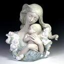 リヤドロ(Lladro リアドロ 陶器人形 置物) 母と子 ぬくもり #ldr-11953