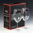 リーデル ワイングラス Riedel ヴィノム ボルドー・ペアセット #rdl6416-0pの写真