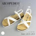 【送料無料】ARCOPEDICO アルコペディコ SANTANA サンダル 5061141 ホワイト 2018年夏新