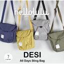 hellolulu ハロルル 5075091 DESI All Day Sling Bag スリングバッグ 機能性 軽量バッグ アウトドア 自転車 メンズ レディース 男女兼用