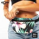 アロハコレクション/Aloha Collection Transfer Mini Hip Pack ミニヒップパック 【送料無料】[ヒップパックハワイ発 撥水 ヨガ 水着入..