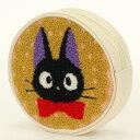 『ジブリ』魔女の宅急便 丸形ポーチ ジジとクッキーポーチ