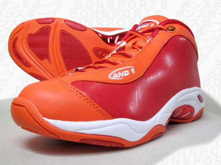 AND1(アンドワン) バスケットシューズ TAICHI MID(タイチミッド)[D1055MORW] 【バスケットボール】バスケットボールシューズ バッシュ バスケットシューズ アンドワン