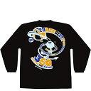 TEAM FIVE(チームファイブ) バスケ 長袖Tシャツ(ブラック×ライトブルー×オレンジ×ロイヤル)[AL-5107] 【バスケットボール】バスケットボールウェア 長袖Tシャツ ロンT ロンティ ロングスリーブ プラクティス シャツ