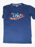 BIKE(バイク) レディスTシャツ(ネイビー×オレンジ×サックス×イエロー)[BK5108-011] 【バスケットボール】バスケットボールウェア 半袖Tシャツ プラクティス シャツレディース 女性用 ウィメンズの画像
