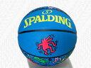 SPALDING(スポルディング) キース・へリング バスケットボール 5号球(ブルー×マルチカラー)[83-363J] 【バスケットボール用品】バスケットボール 5号