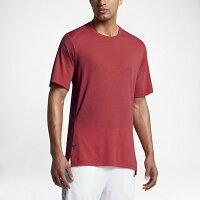 NIKE(ナイキ) バスケットボール Tシャツ(レッド)[830949-602] 【バスケットボール】バスケットボールウェア 半袖Tシャツ プラクティス シャツの画像