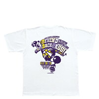 TEAM FIVE(チームファイブ) バスケットボール Tシャツ(ホワイト×パープル×イエロー)[AT-6708] 【バスケットボール】バスケットボールウェア 半袖Tシャツ プラクティス シャツの画像