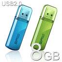 USBメモリー 8GB Herios 101 USB2.0【送料無料/メール便】シリコンパワー SP008GBUF2101V1USBフラッシュ USBメモリ USBフラッシュメモリー