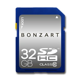 SDカード 32GB CLASS10 BONZRT SDHC 32ギガ クラス10永久保証付き