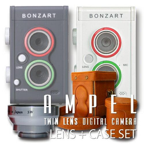 デジタルカメラ BONZART AMPEL+専用速写ケース + Wide & Macroレ…...:bonz:10033627