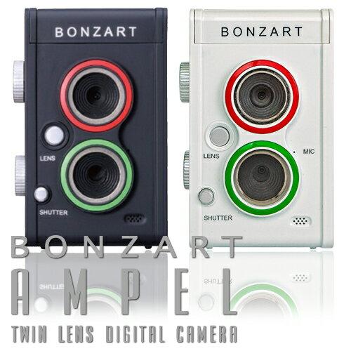 デジタルカメラ 二眼レフ風デジタルカメラBONZART AMPEL ボンザート アンペルト…...:bonz:10024508