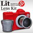 BOZART Lit+ LENS KIT【送料無料/Micro SD付き】ボンザート リトプラス レンズキットTOY CAMERA トイカメラ トイデジ トイデジカメ 女子カメラ キッズカメラ