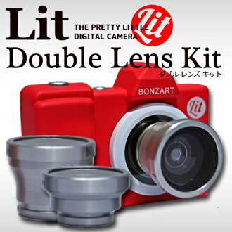 BONZ-LIT/2BONZ-LENS BOZART Lit + Double Lens Kit ボンザート リトプラス 더블 렌즈 키트 TOY CAMERA 토이 카메라 トイデジ 토이 디카 여자 카메라 키즈 카메라