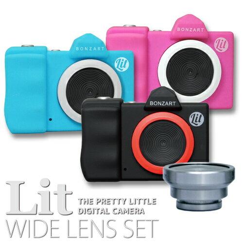 BONZART Lit+ Wide Lens Setトイカメラ + ワイドレンズ