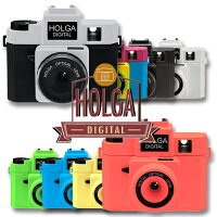トイデジHOLGADIGITALホルガデジタル【送料無料】トイカメラデジタルカメラWi-fiSD対応トンネル効果ネオンカラーブラックシルバーバイカラー