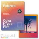 Polaroid Color i-Type Film Color Wave Edition ポラロイド フィルム カラーフィルム i-typeカメラ用