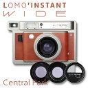 チェキ Wideフィルム専用カメラLOMO' INSTANT WIDE Central Park + LensesLomography ロモグラフィー【送料無料...