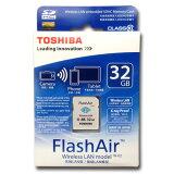 SD-R032GR7AL01 TOSHIBA 32GB FlashAir 無線LAN搭載SDHCカード【メール便/】東芝 Class10 海外リテール 海外パッケージ品 16GB SDHC CLASS