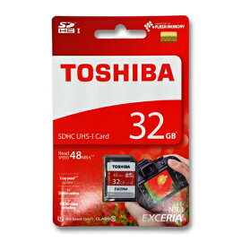 SD������32GB���16����SDHC���饹10UHS-1TOSHIBATHN-N301R0320C4(SD-K032GR7AR040A�θ�ѷ��֡�48MB/s