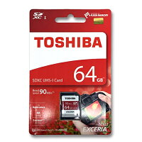SD������64GB��ǡ�����̵��/����ء�64����SDXC���饹10UHS-3TOSHIBATHN-N302R0640A490MB/s