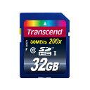 SDカード 32GB クラス10 トランセンドTranscend TS32GSDHC10 200x【送料無料/メール便】SDHCカード Premium 32ギガ CLASS10 メモリ
