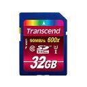 SDカード 32GB UHS-1 トランセンドTS32GSDHC10U1 Transcend Ultimate 600x【送料無料/メール便】SDHCカード 32ギガ UHS-1