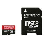 microSDカード 32GB UHS-1 トランセンドTS32GUSDU1 Transcend Premium 300x【送料無料/メール便】microSDHCカード 32ギガ UHS-1