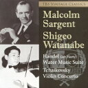 TBS Vintage Classics チャイコフスキー:ヴァイオリン協奏曲 ヘンデル:水上の音楽 [ サージェント 渡辺茂夫 ]