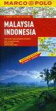 Malaysia, Indonesia Map [ Marco Polo ]