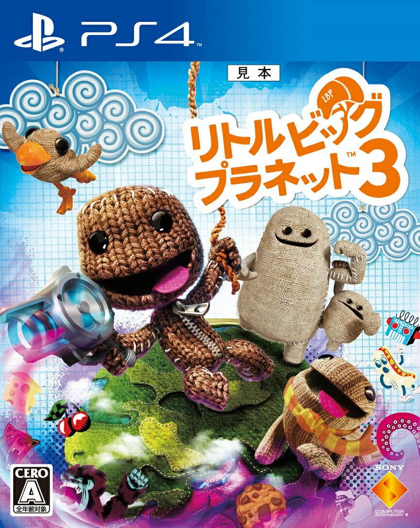【予約】リトルビッグプラネット3 PS4版