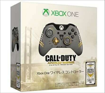 Xbox One ワイヤレス コントローラー (コール オブ デューティ アドバンスド・ウォーフェア)