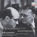 【輸入盤】チェロ協奏曲第1番(コンドラシン&チェコ フィル) 第1番(ガウク モスクワ初演ライヴ) 第2番(スヴェトラーノフ&プラハ響) ショスタコーヴィチ(1906-1975)