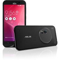 ASUS ZenFone Zoom スタンダードブラック/ 5.5inch/1920x1080(FHD)/Android 5.0/Intel Atom Z3580 2.3GHz/RAM 4G/eMMC 32GB/802.11AC/BT4.0/LTE対応