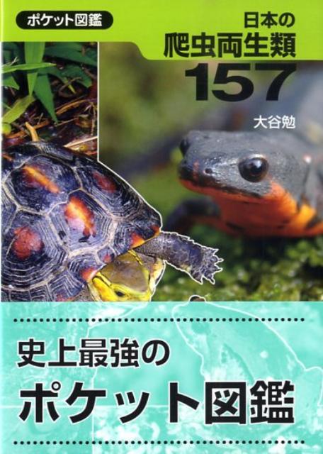 日本の爬虫両生類157 ポケット図鑑 [ 大谷勉 ]の商品画像
