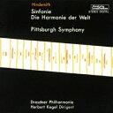 ベリー・ベスト・クラシック1000 85::ヒンデミット:交響曲「世界の調和」/ピッツバーグ交響曲 [ ヘルベルト・ケーゲル ]