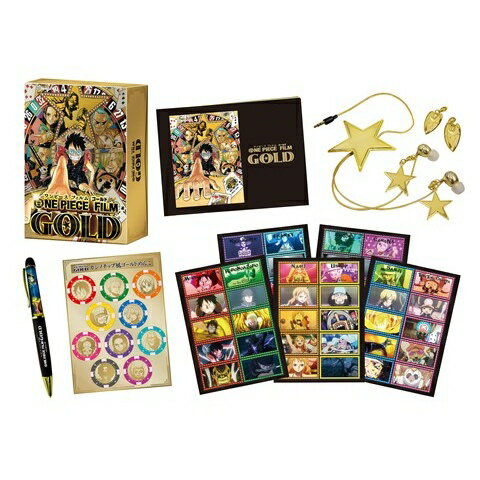 ONE PIECE FILM GOLD GOLDEN LIMITED EDITION(初回…...:book:18237028
