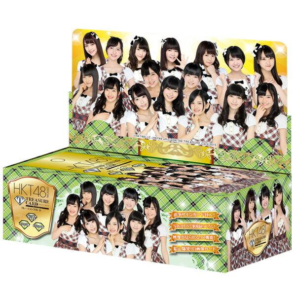 HKT48 official TREASURE CARD 初回限定10P BOX 【1BOX 10パック入り】