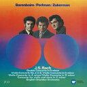 【輸入盤】ヴァイオリン協奏曲集 パールマン、ズッカーマン、バレンボイム&イギリス室内管(2CD) [ バッハ(1685-1750) ]
