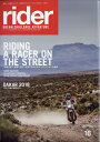 rider Vol.16 2018年 03月号 [雑誌]