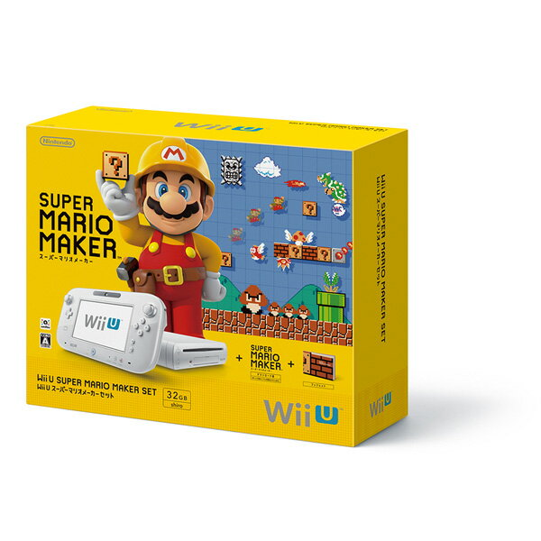 【予約】Wii U スーパーマリオメーカー セット