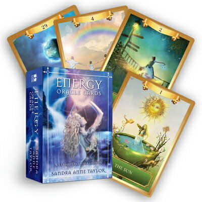 Energy Oracle Cards: A 53-Card Deck and Guidebook ENERGY ORACLE CARDS [ Sandra Anne Taylor ]