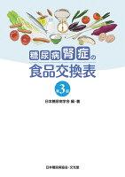 糖尿病腎症の食品交換表第3版