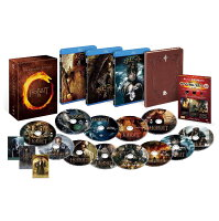 ホビット トリロジーBOX 3D&2Dブルーレイセット (12枚組/デジタルコピー付)【完全数量限定生産】【Blu-ray】