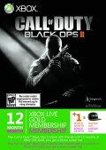 【限定】 Xbox LIVE 12ヶ月+1ヶ月 コール オブ デューティ ブラックオプスIIエディション