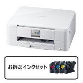 【お得なセット】brother A4インクジェット複合機 DCP-J562N + インクカートリッジ お徳用4色パック LC211-4PK
